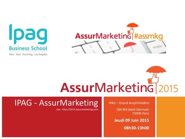 Programme AssurMarketing|2015