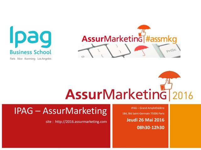 Programme AssurMarketing|2016