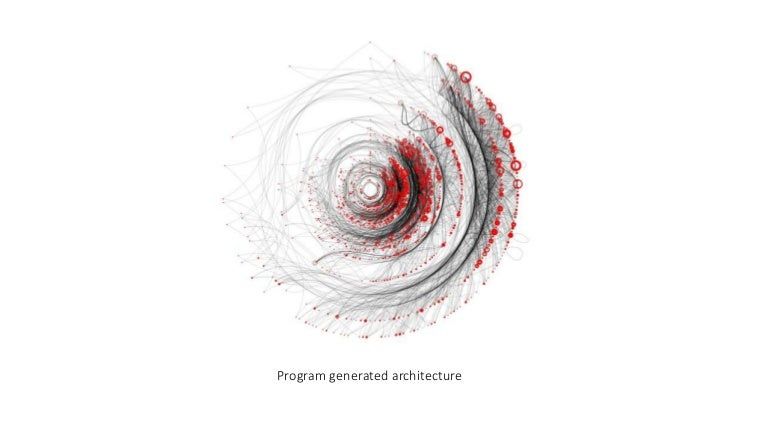Programme generated architecture