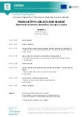 Programme, Legal Protection in Public Procurement, Pristina, 10 July 2014_srb