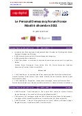 Programme personal democracy forum