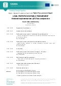 Programme, PRB & Courts, Public Procurement Workshop, Pristina, 3 June 2014_eng