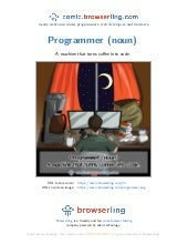 Programmer - Webcomic about programmers, web developers and browsers