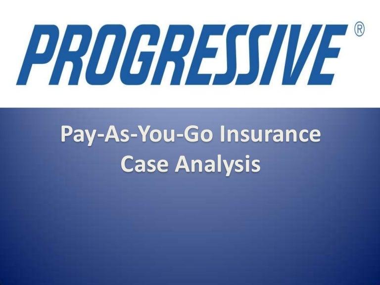 Progressive Pay As You Go Insurance