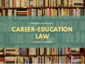 Progress on the New Career-Education Law | Michael G. Sheppard