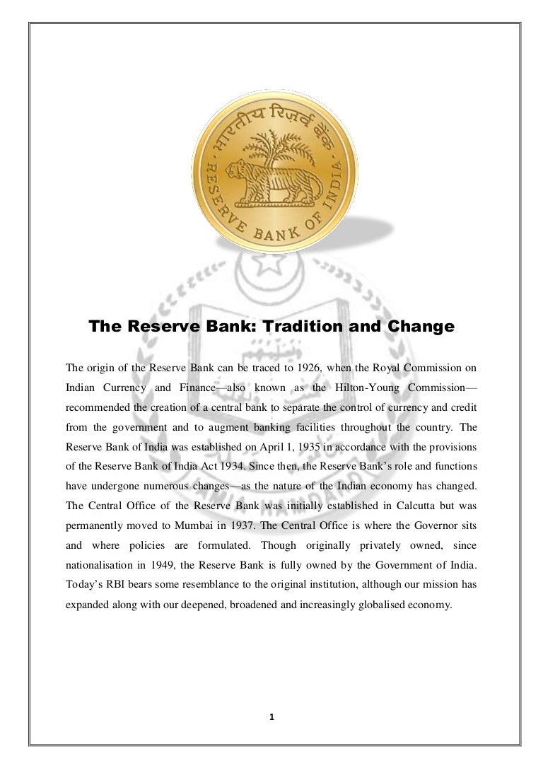 Reserves of banks: definition, features and formation 7