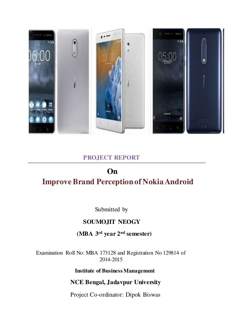 Improve Brand Perception of Nokia Android