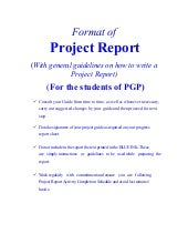 SlideShare  Construction Project Report Format