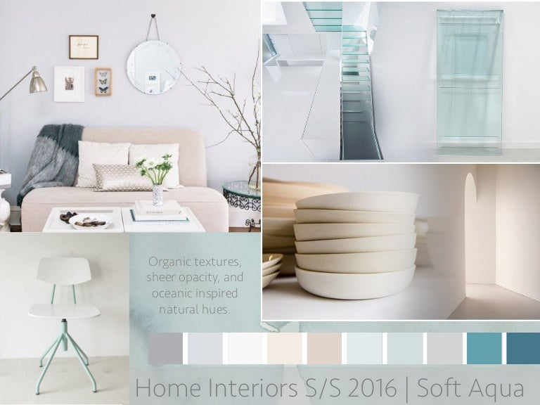 Spring 2016 Homeinterior Trend Boards - spring home decor trends 2016