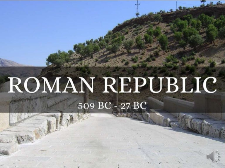 Project 2 The Roman Republic