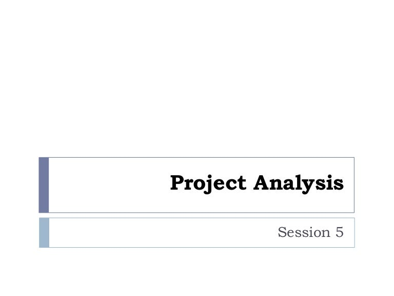 Project Analysis And Valuation - Introduction To Project Analysis And…
