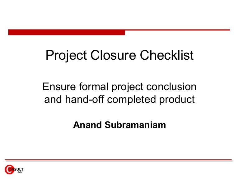 ProjectclosurechecklistPhpappThumbnailJpgCb