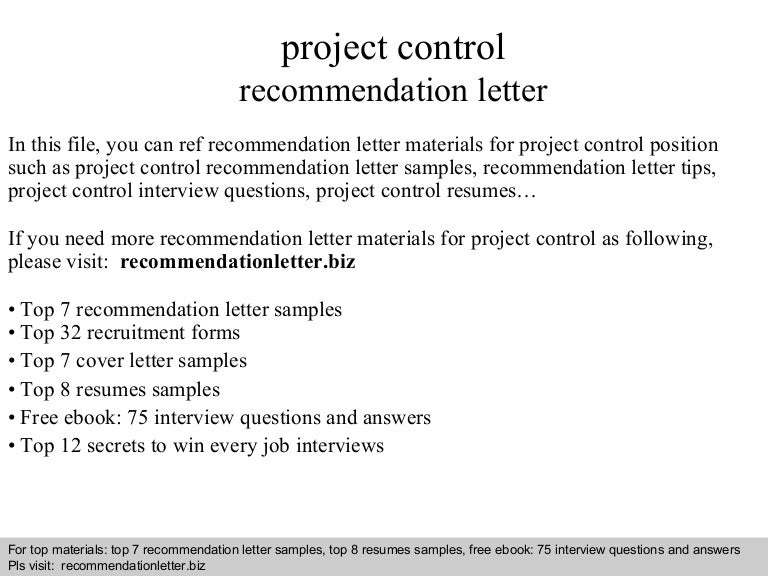 Cover Letter For Project Controls. Cover. Best Resume And Cover ...