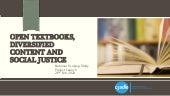Project Launch: Open textbooks and Social Justice Australian National Scoping Study
