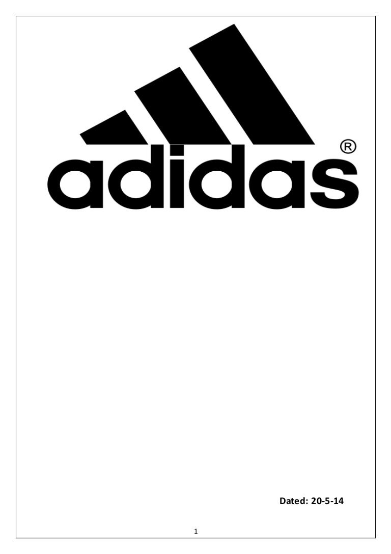 the latest e413b 0043c Project Report Adidas