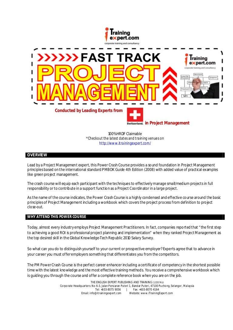 Project management 2 days fast track public program course brochure project management 2 days fast track public program course brochure xflitez Gallery
