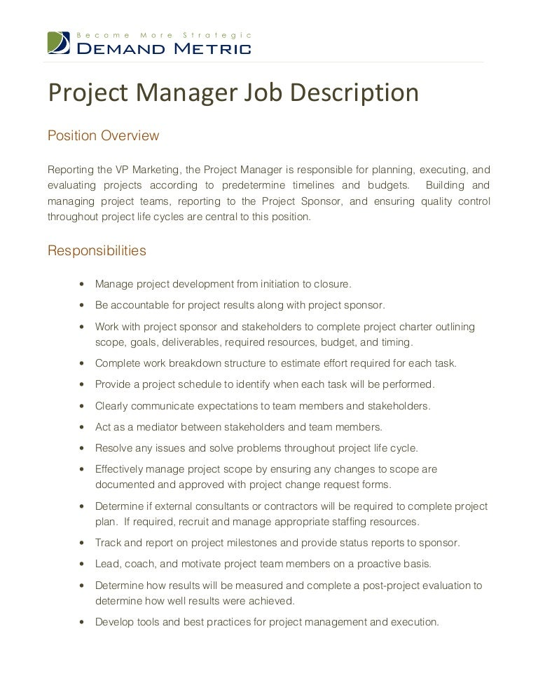 ProjectmanagerjobdescriptionPhpappThumbnailJpgCb