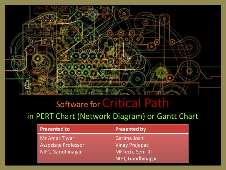 Project management through gantt pert chart ccuart Gallery