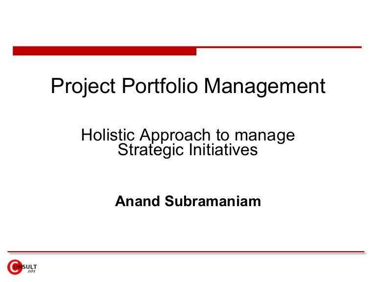 Prioritizing the It Project Portfolio