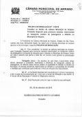 Projeto de resolução nr 11 de 2015