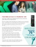 Consolidate and save on virtualization costs: Upgrade to HPE ProLiant BL460c Gen9 servers and reduce your software licensing footprint