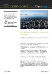 Promapp Case Study Taupo District Council