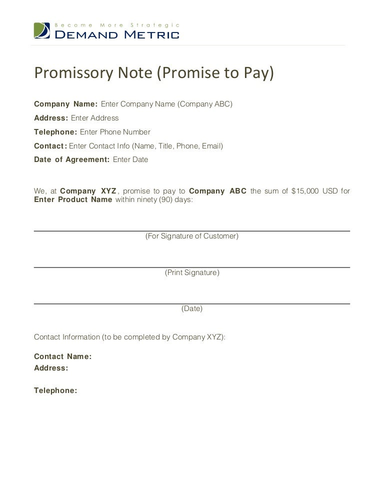 Promise to pay template promisetopaytemplate 120408131923 phpapp02 thumbnail 4gcb1354789940 altavistaventures Choice Image