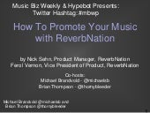 How To Promote Your Music With ReverbNation