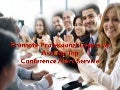 Promote professional events by availing top conference alert service