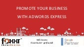 Promote your business with ad words express