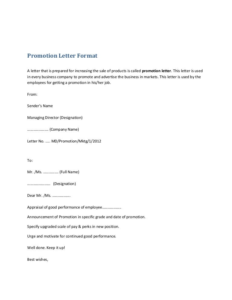 promotionletterformat131024231521phpapp01thumbnail4jpgcb 1382656586 – Letter of Appraisal