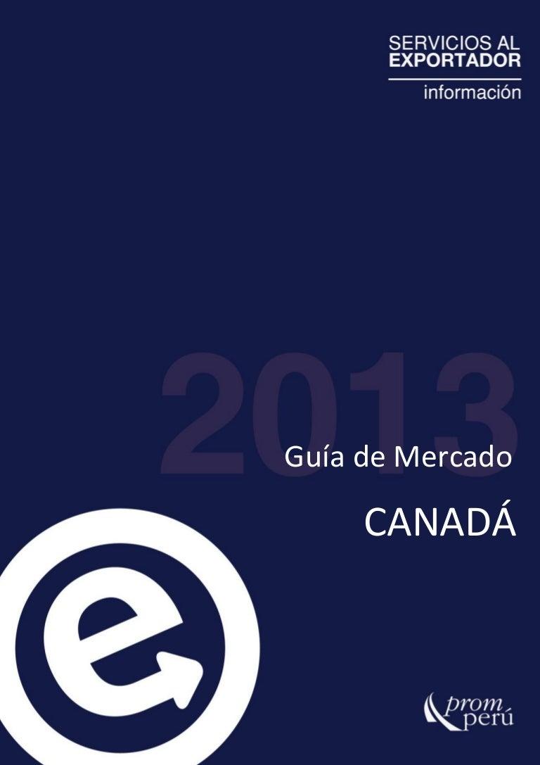 PROMPERU - guia de mercado Canada