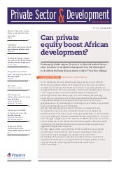 Can Private Equity boost African development