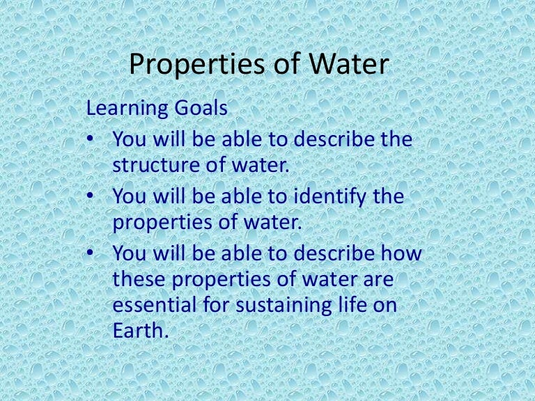 Chapter 2 water and aqueous solutions ppt video online download.