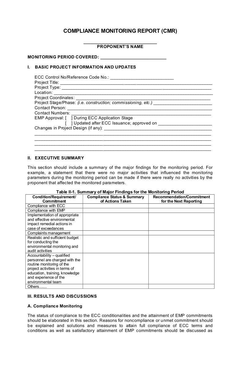 Denr Semi Annual Report Cmr Form