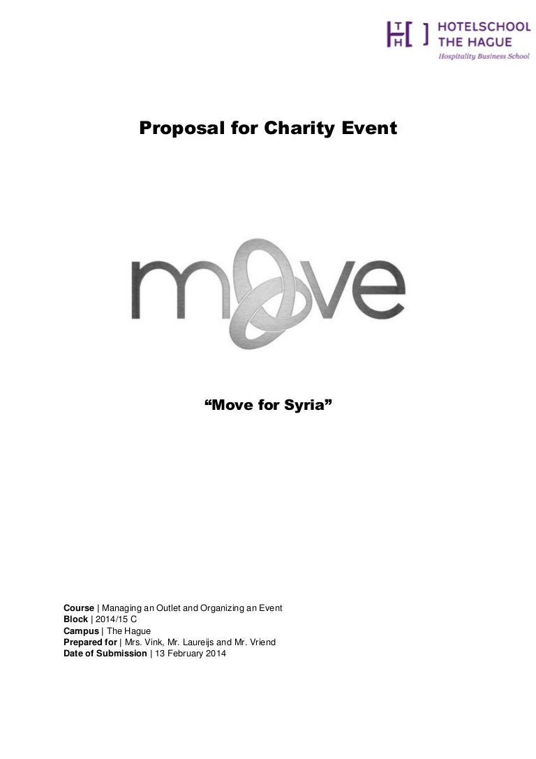 SlideShare  Charity Proposal Template