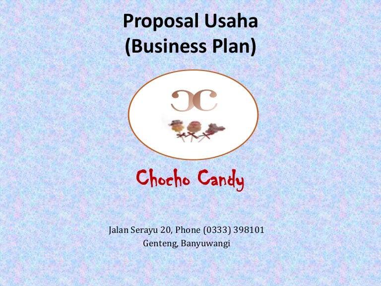 Cover Proposal Usaha Makanan / Contoh Proposal Usaha ...