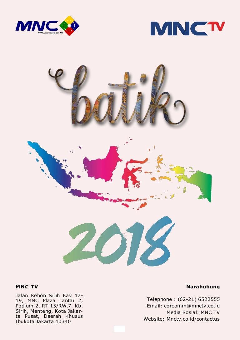 Proposal Carnaval Batik