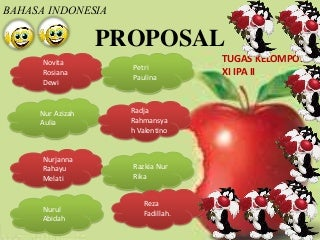 PPT - Materi Proposal - B. Indonesia - Kelas XI