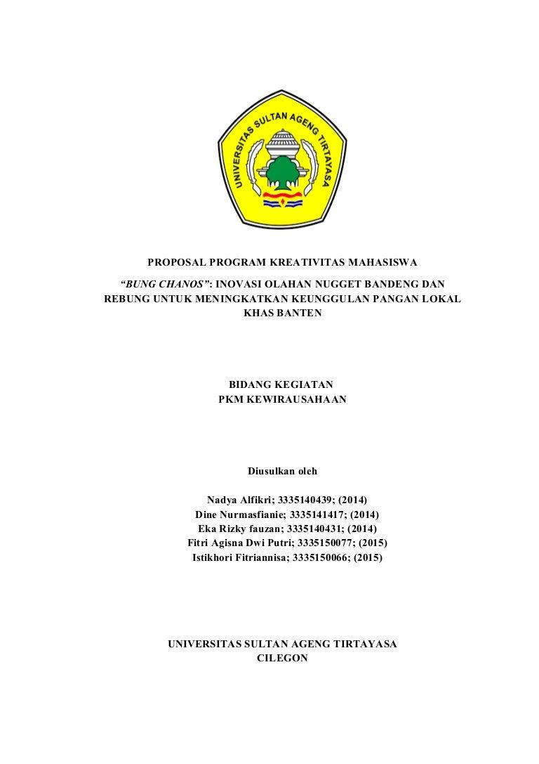 Proposal kwu bung chanos