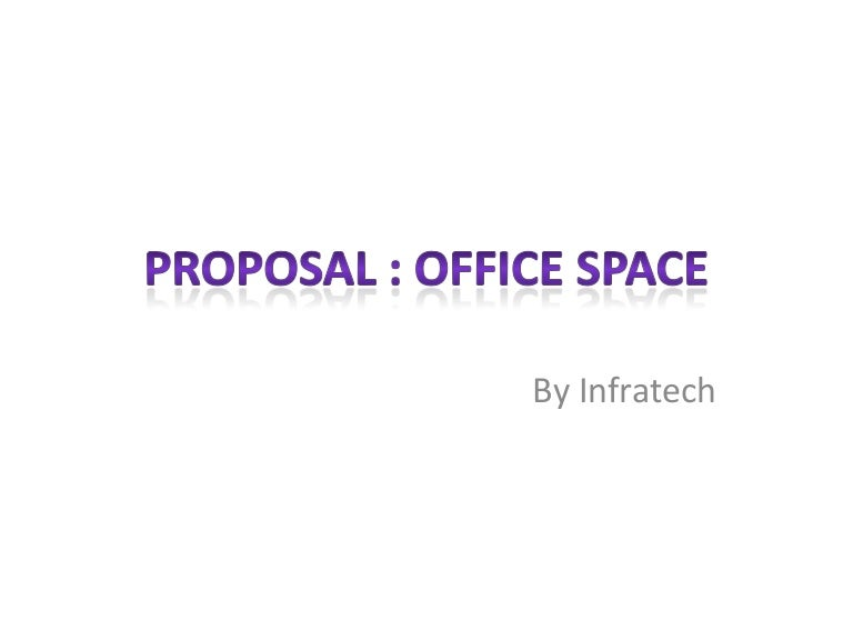 Proposal office space