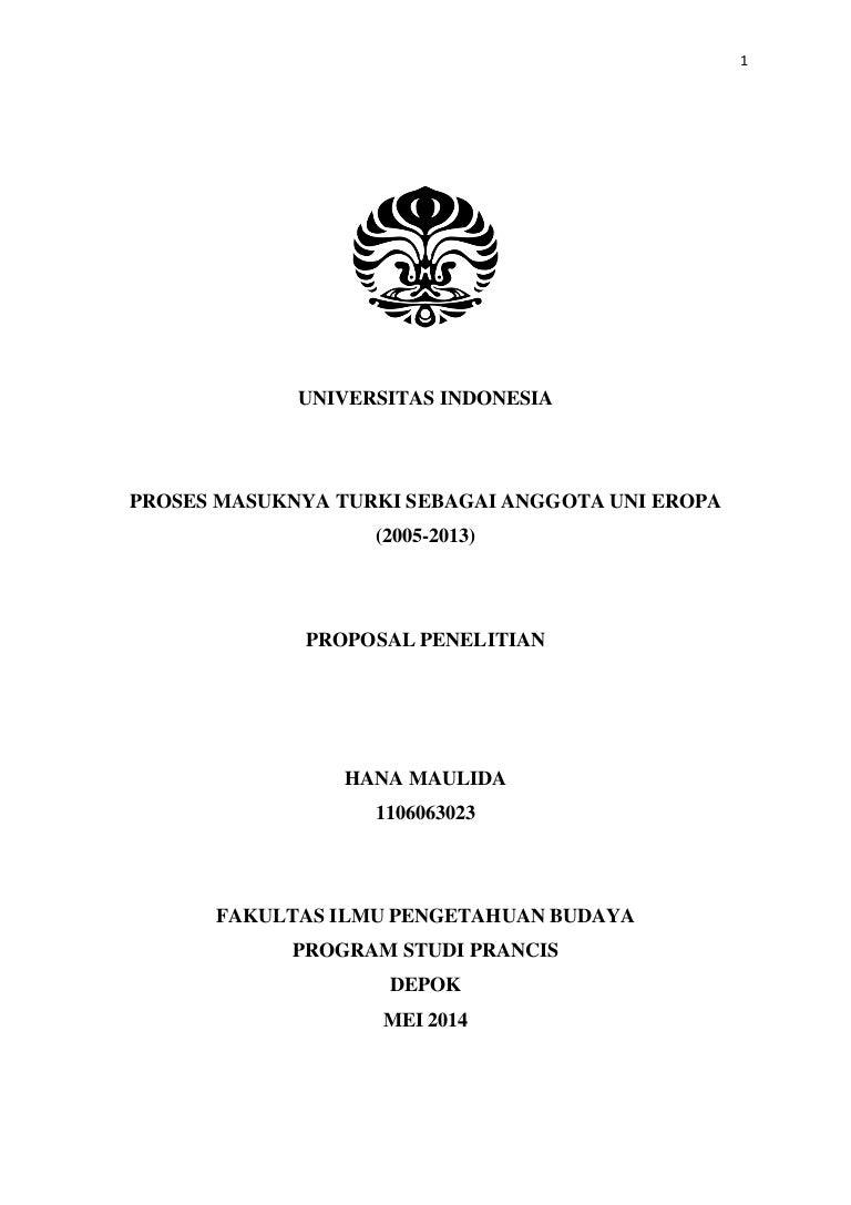 Proposal Penelitian Hanamaulida