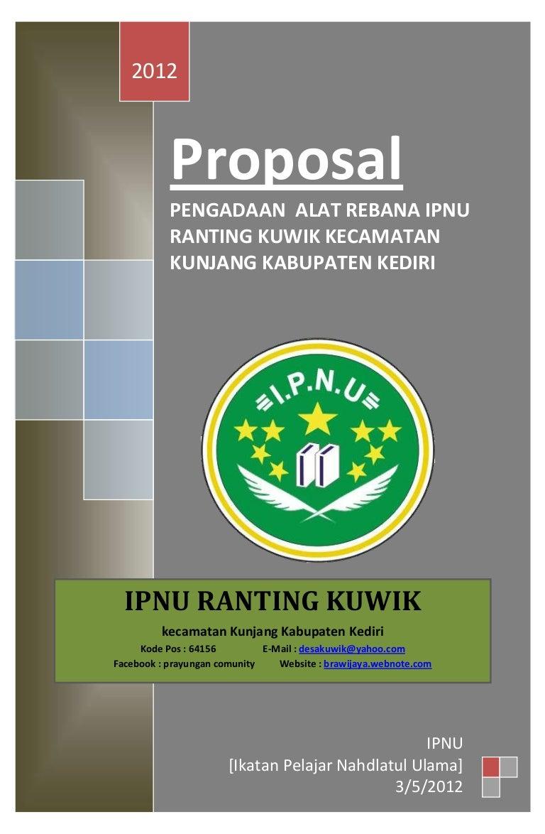 Proposal Penyediaan Alat Rebana Remaja Masjid