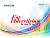 Da Nang international airport advtising