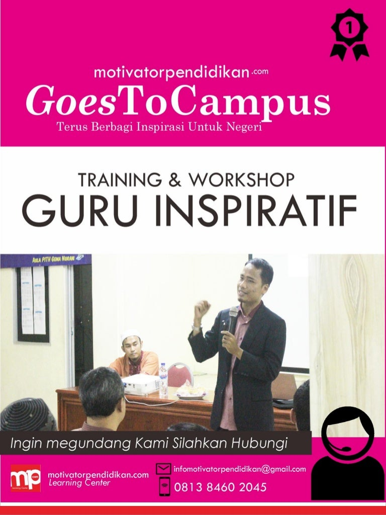 Contoh Proposal Training Guru Inspiratif Untuk Program 1 Hari