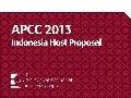 APCC 2013 Indonesia Host Proposal