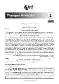 PROPOSTA DE REDAÇÃO 01