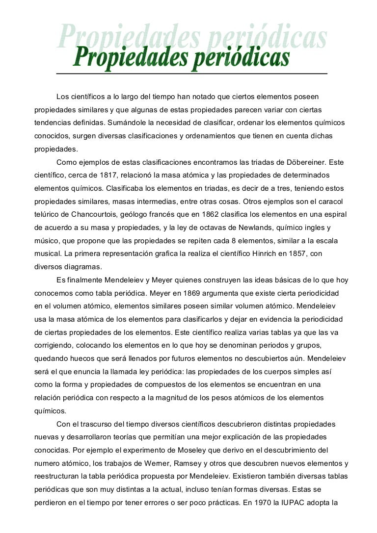 Propiedades peridicas y tabla peridica urtaz Image collections