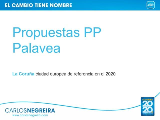 PP Coruña-Propuestas PALAVEA-Carlos Negreira