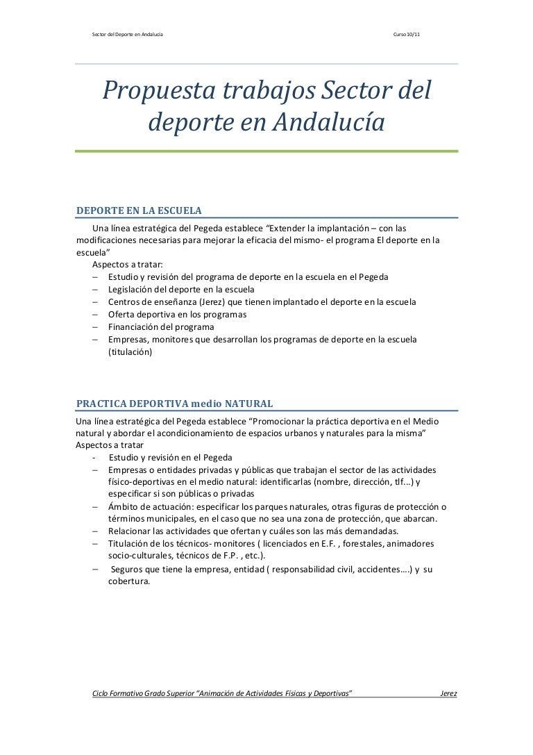 Propuesta Trabajos 3º Trimestre D Andalucia